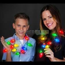 flashing christmas light necklace light bulb christmas light bulb necklace has 2 cr2032 batteries
