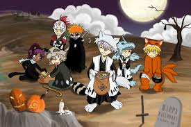 halloween background anime bleach anime halloween 2011 daily anime art