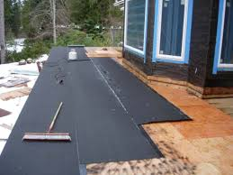 torch on roof membrane on deck roofing siding diy home