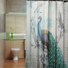 Peacock Bathroom Accessories Shower Curtain Shower Curtain Rod U0026 Curtain Accessories Newchic