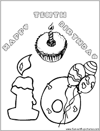birthday coloring pages boy challenge birthday coloring pages for aunts 9929 and boy sharry me