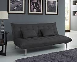 Charcoal Sofa Bed Living Room Furniture Sofa Beds Jersey Charcoal Fabric Sofa Bed