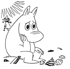 the moomins coloring pages