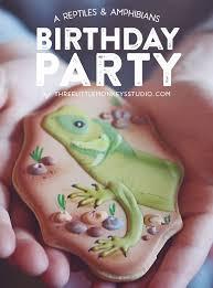 a reptiles u0026 amphibians birthday party three little monkeys studio