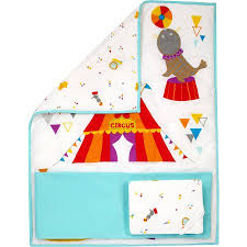 Circus Crib Bedding Bedding By Nojo Reversible Step Right Up Circus Print 3
