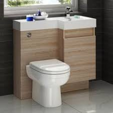 Combination Vanity Units For Bathrooms by Sienna Milo White Gloss Combination Vanity Unit Small Tiny Home