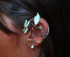 s ear cuffs papillon9 glow ear cuffs and earrings