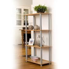 etagere legno libreria scaffale in legno 4 ripiani 60 x 111 x 29 cm etagere