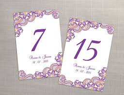 diy printable wedding table number template 2366758 weddbook