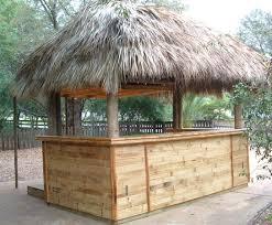 exterior ideas tiki bars aloha tiki creations how to build a tiki
