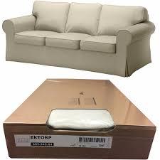 Three Cushion Sofa Slipcovers Furniture Get A Modernized Look For Your Ikea Ektorp Slipcover