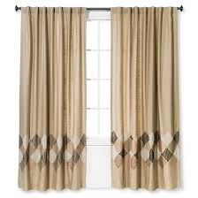 Two Curtains In One Window Zig Zag Embroidered Window Panel Threshold Target