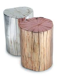 Wood Stump Coffee Table Tree Trunk Coffee Table Decoration In Tree Stump Nightstand