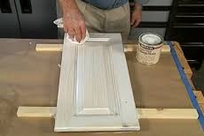 white washed maple kitchen cabinets how to make a pickled or white wash finish hazelton