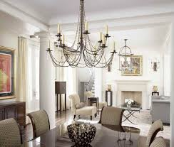 dinning kitchen table chandelier room lights rectangular