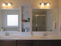 Mirror With Shelves by Bathroom Designing The Bathroom Mirror With Excellent Ideas Of