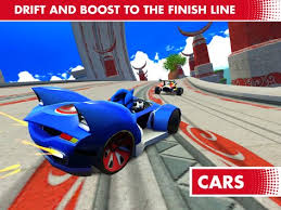 sonic sega all racing apk sonic racing transformed apk free racing for