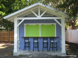 snack shack by historic shed the deck landscaping ideas images