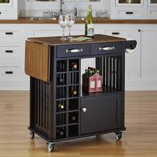 kitchen carts kitchen island with seating wayfair roundhill wood