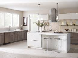 modern semi custom kitchen cabinets modern meets rustic in this kitchen featuring a