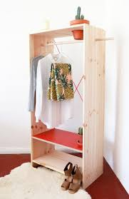 Free Standing Wooden Shelving Plans by Remodelaholic 14 Creative Closet Solutions To Organize And Add