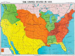 in us map map of the united states 1810 us territorial maps 1810 maps of