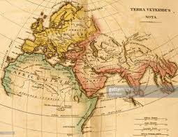 Asia Minor Map by Map Of U0027terra Veteribus Nota U0027 Pictures Getty Images