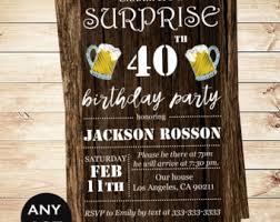 printable downloadable men u0027s surprise birthday party