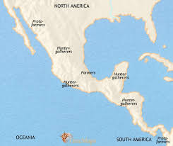 map of mexico south america map of mexico and central america at 2500bc timemaps