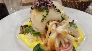 cuisine à la plancha seiche a la plancha picture of restaurant au soleau villeneuve