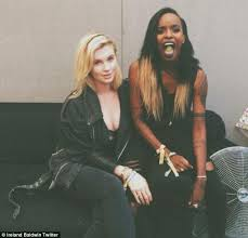 Interacial Lesbians - angel haze puts split rumours to rest with suggestive tweet