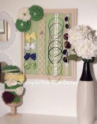 hair accessory organizer barnwood frame jewelry organizer picture frame jewelry organizer