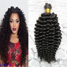 human curly hair for crotchet braiding mongolian kinky curly afro crochet braids loose curly hair style