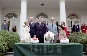 thanksgiving with the presidents pieces of history