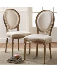 linen chair savings on shiraz linen oval back dining chairs in set of 2