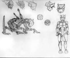 joshua d altobelli u0027s art some more robot sketches u0026 anime boston