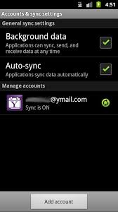 SmoothSync for Yahoo    Calenda  screenshot Google Play