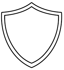 superhero template printable ctr shield coloring srp 2015