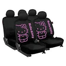 housse de siege hello amazon fr hello kit3021 housse de sièges pour voiture noir