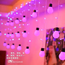 pink lights for room holiday led light strings 48pcs led bulb 48pcs icicle lights