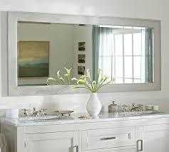 pottery barn bathroom ideas classic wide mirror pottery barn