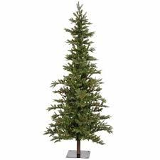 pre lit 7 foot westwood pine flocked artificial christmas tree