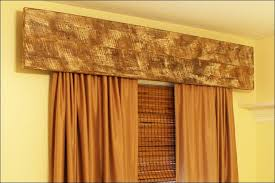 Painted Bamboo Blinds Interior Decorative Wooden Window Valances With White Horizontal