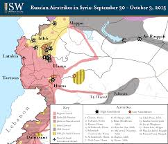 Syria Fighting Map by Bremmer One Step Beyond Proxy War Business Insider