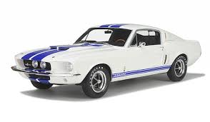 mustang gt model ford shelby mustang gt 350 white limited edition of 1000pc 1 12