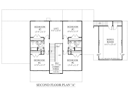2nd floor house plan houseplans biz house plan 3397 a the albany a