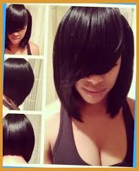 sew in bob hairstyles for black women sew in bob with side bang pertaining to fantasy clever hairstyles