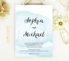 watercolor wedding invitations watercolor wedding invitations printed on luxury shimmer paper