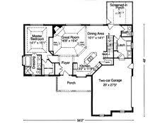 2300 Sq Ft House Plans Bungalow Style House Plans 2300 Square Foot Home 2 Story 4