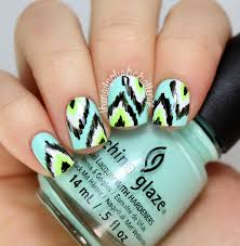 like this color scheme for ikat nails nail art pinterest